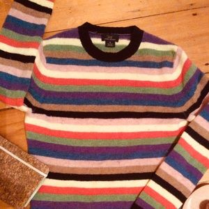 100% Wool Brooks Brothers Striped Sweater